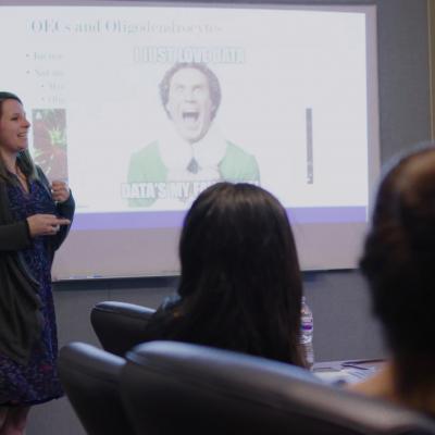 Dr. Kaitlin Ingraham-Dixie Recipient of Distinguished Teaching Award