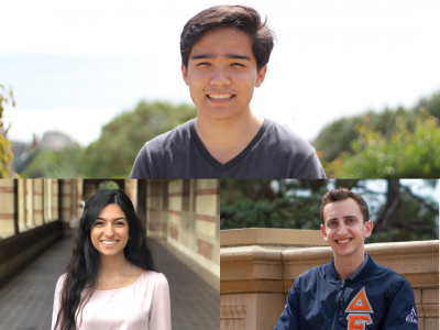 Congratulations to our three student poster awardees!