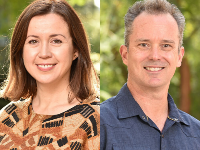 Professors Mark Frye and Stephanie Correa announced as 2019-2020 Life Sciences Excellence Award winners