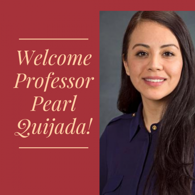 IBP Welcomes Professor Pearl Quijada!
